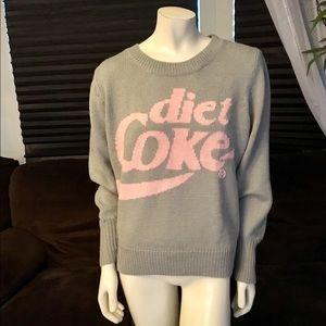 NWT Wildfox Gray Cloud Diet Coke Lou Sweater